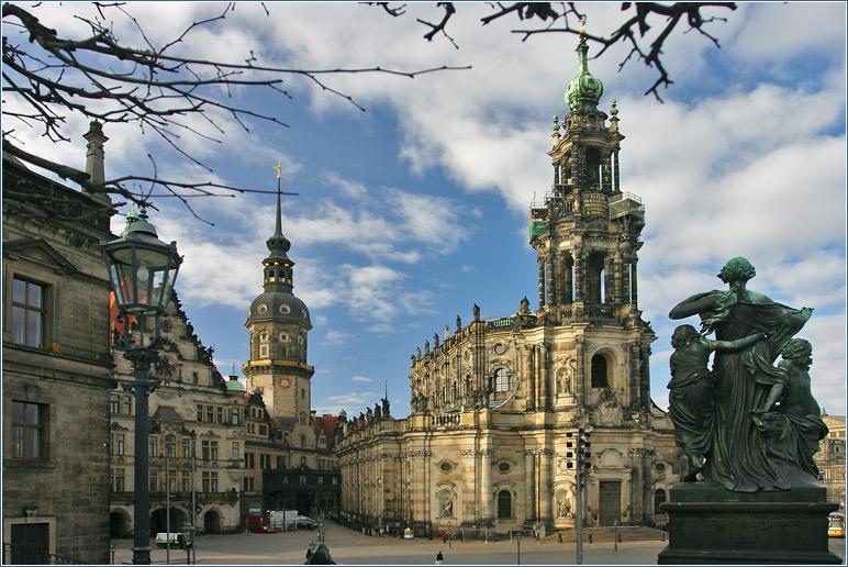 Фотоотчёт из Дрездена и окрестностей.